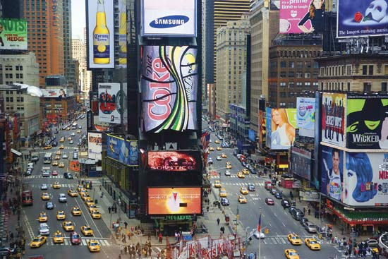 new york times square pictures. As it is New York,